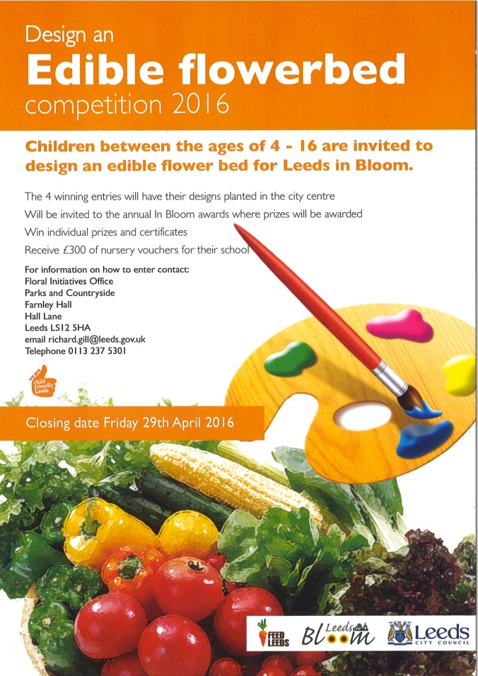 Edible Flowerbed competition 2016