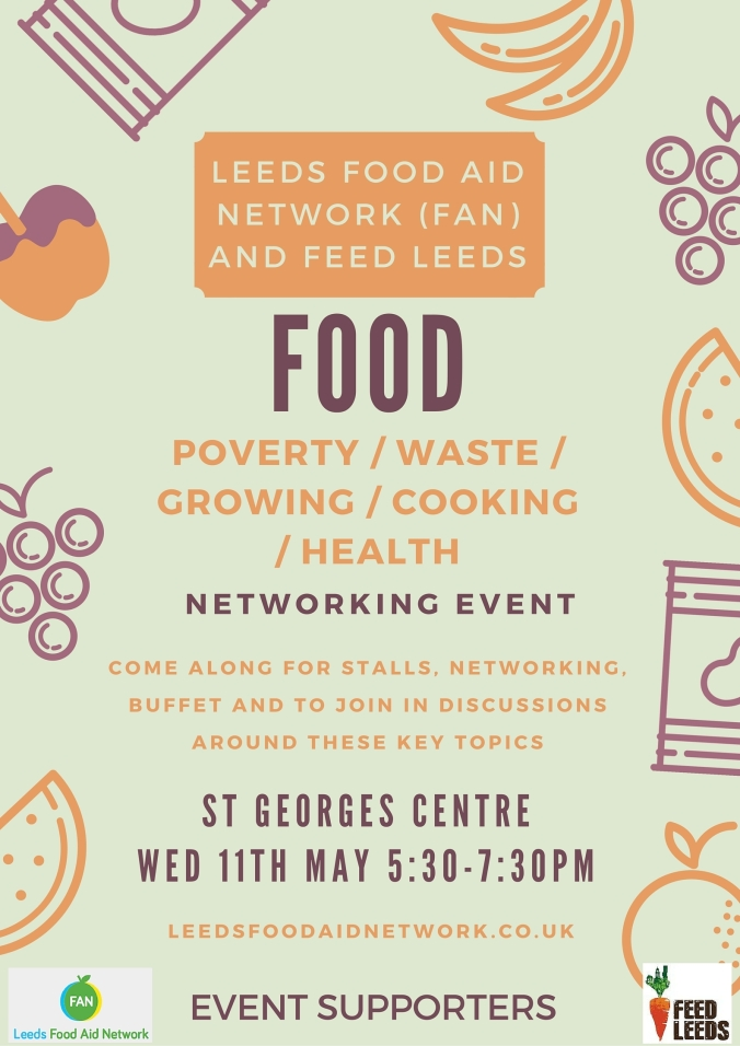Food Event Poster - May 11th
